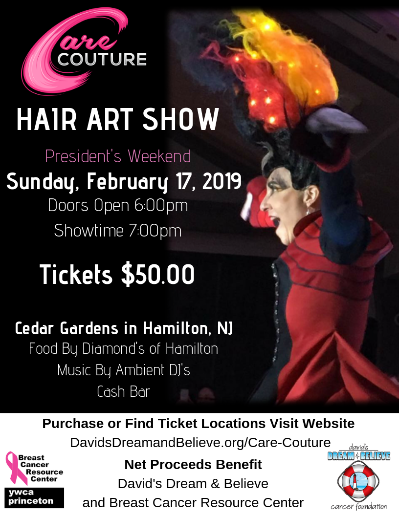 Care Couture Hair Art Show - BCRC @ Diamond's of Hamilton at Cedar Gardens | Hamilton Township | New Jersey | United States