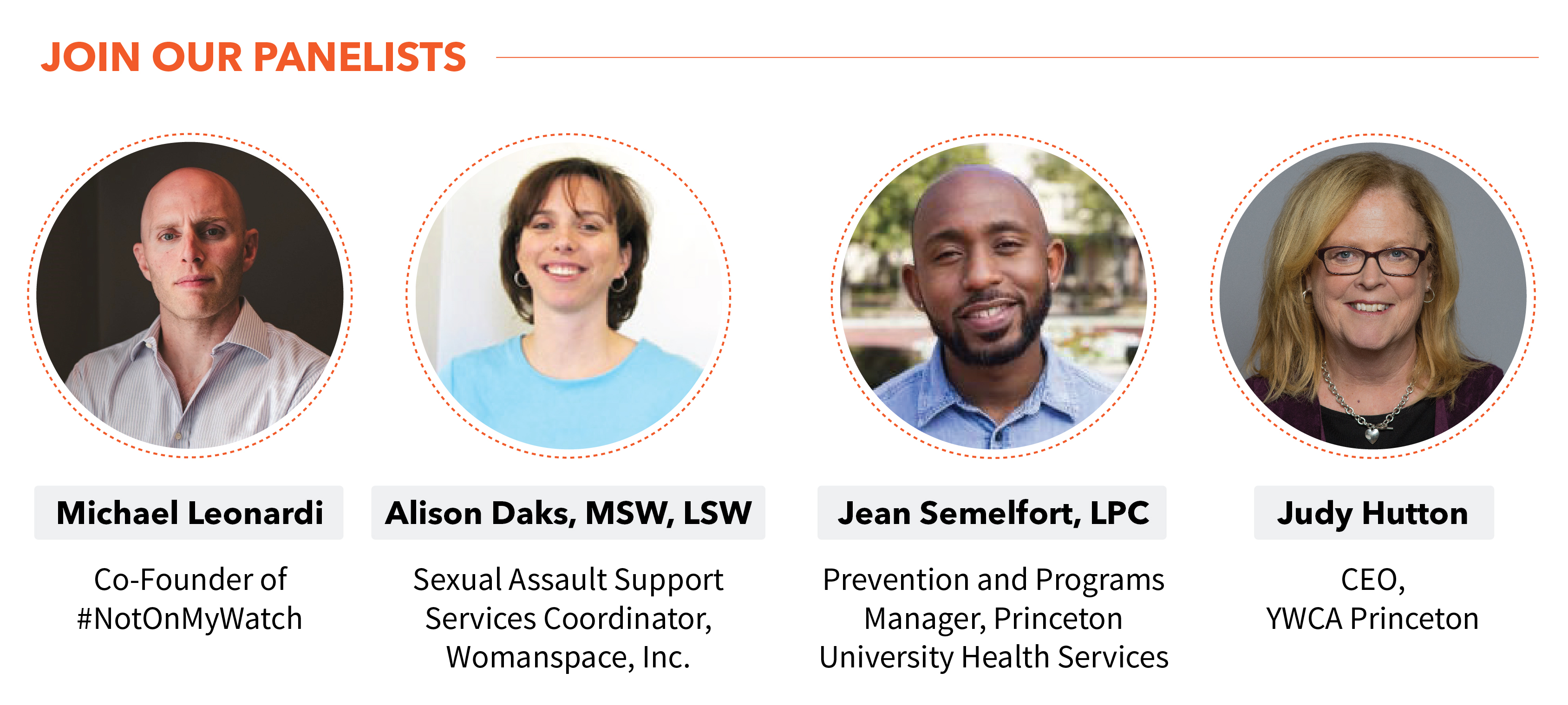 Community Forum: Sexual Assault and Gender-Based Violence @ YWCA Princeton | Princeton | New Jersey | United States