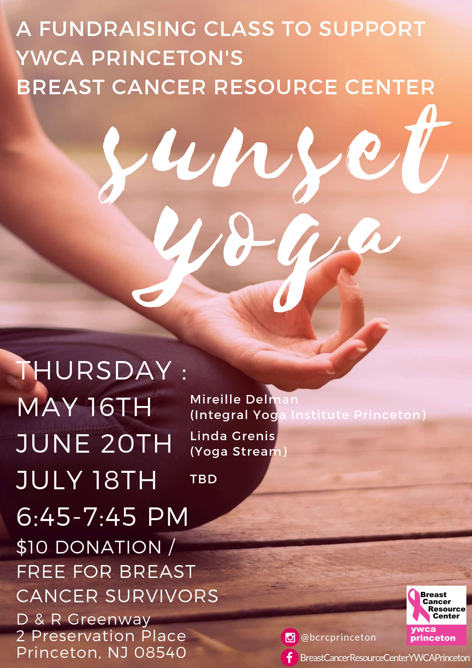 Sunset Yoga Series - BCRC @ BCRC Clubhouse