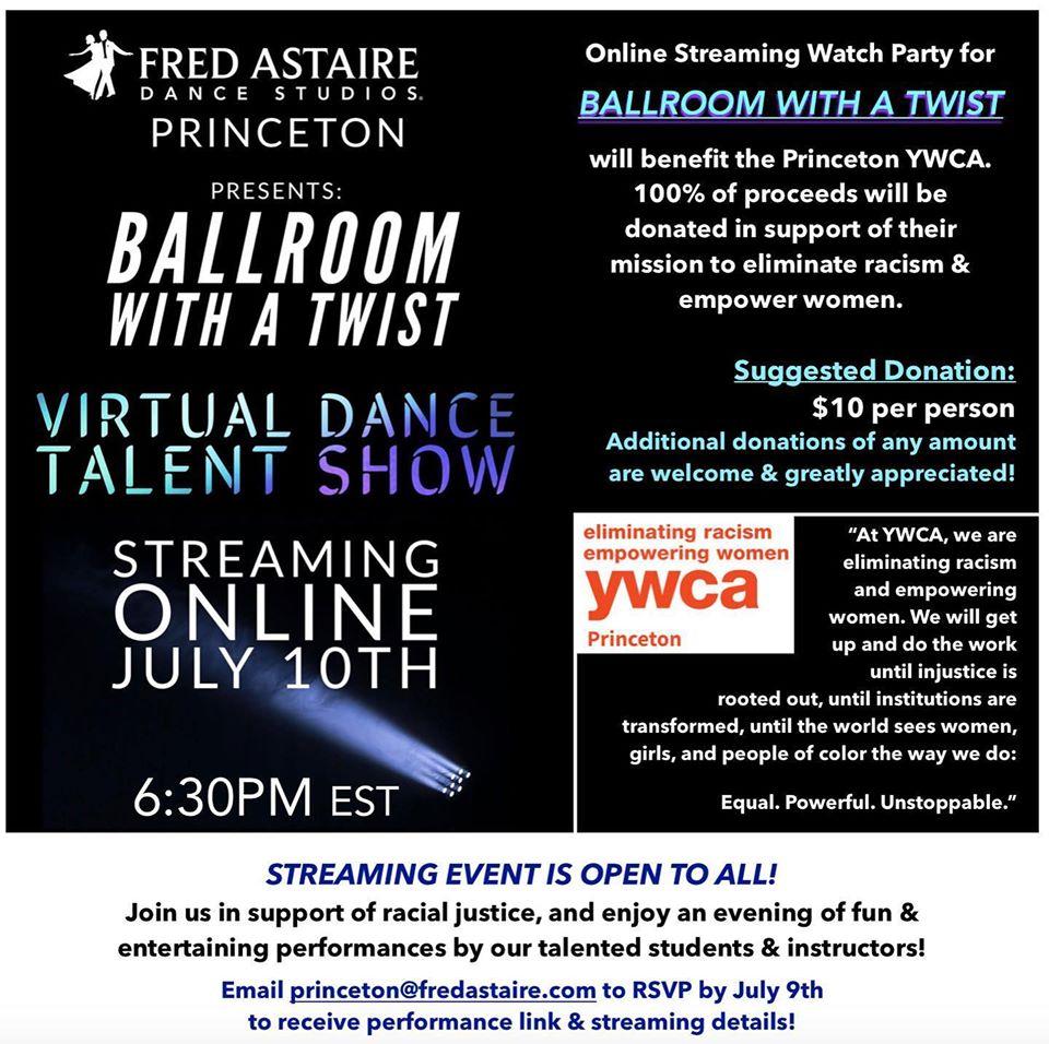 Ballroom with a Twist: Virtual Dance Talent show @ Virtual