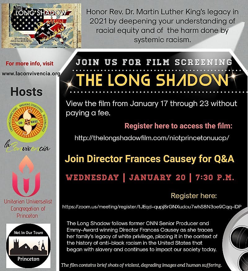 Screening of The Long Shadow @ Film: The Long Shadow and Q&A Session