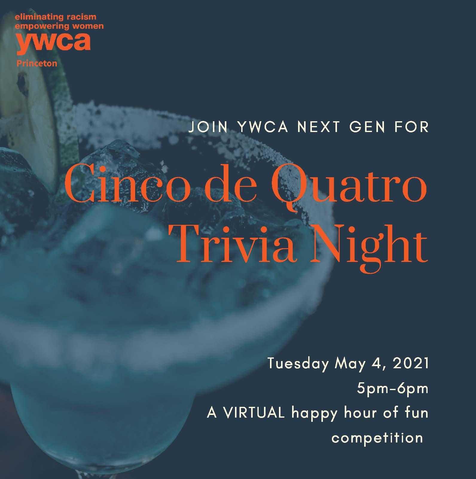 Cinco De Quatro NEXT GEN Trivia Night