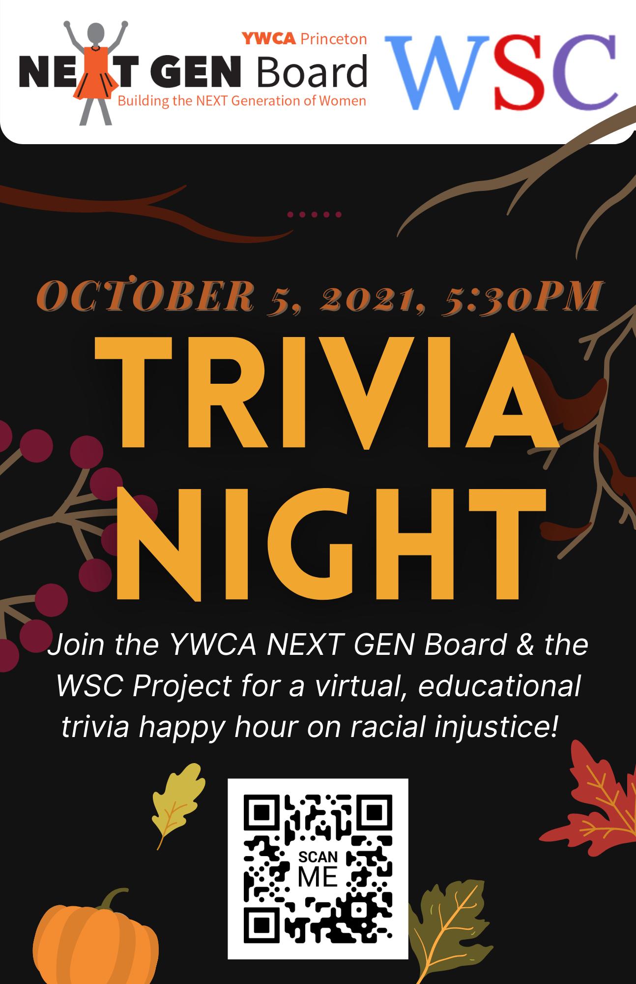 NEXT GEN Trivia Night @ Virtual